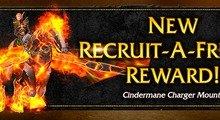New WoW Recruit-A-Friend Reward