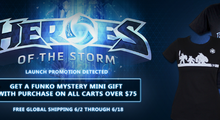 Heroes of the Storm Blizzard Gear Launch Promo & J!NX Summer Sale