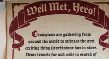 New Hearthstone Content Announcement Teased