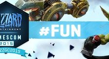 Blizzard gamescom 2015 Contest