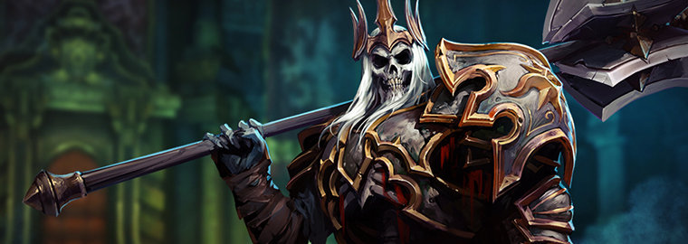 Hots lunara gold price reduced space lord leoric tease - Heroes of the storm space lord leoric ...