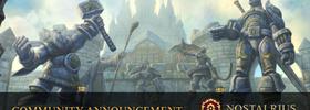 Meeting Between Nostalrius and Blizzard Scheduled!