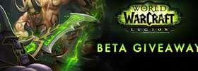Yet Another Legion Beta Key Giveaway By Blizzard
