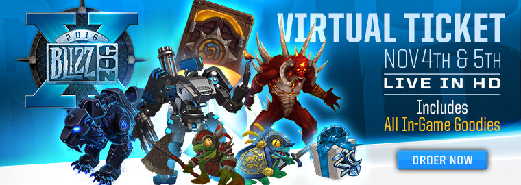 2018 Blizzcon Virtual Ticket Rewards - YouTube