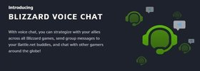 Battle.net Patch: Blizzard Voice, Chat Channels, more