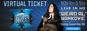 Weird Al Yankovic Concert to Close out BlizzCon!