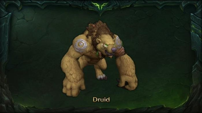 Druids get a humanoid Bear form in patch 7.2! - World of Warcraft ...