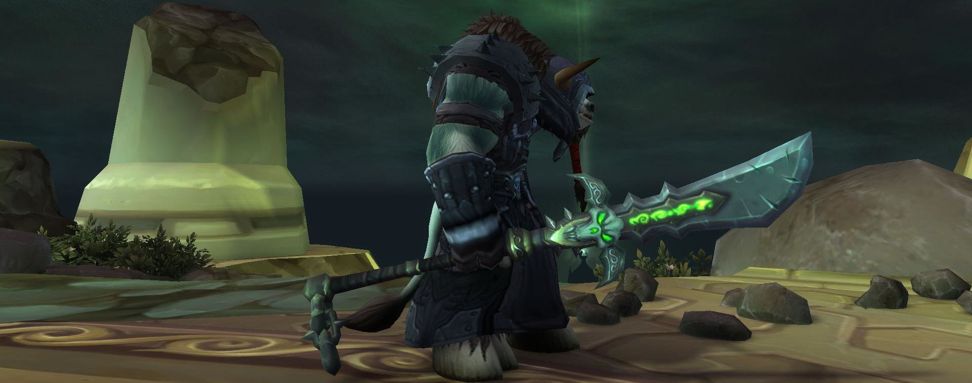 death knight and paladins got class weapon arsenals in build 23708 of patch 7 2 with arsenals you can learn all weapons your class can equip including