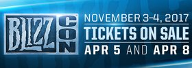 BlizzCon 2017 Tickets on Sale Wednesday