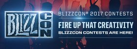 BlizzCon 2017 Contest Registration