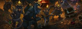 For the Hoard card back to come with Kobolds and Catacombs pre-order