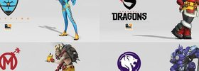 New OW League Team Skins Coming!