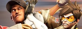 Amazing Overwatch Vs. TF2 Machinima