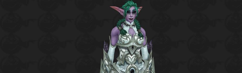 Patch 8 1: Night Elf Warrior Customization Options - News