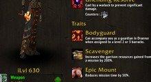 Bodyguard Perks - Leorajh Mission Table